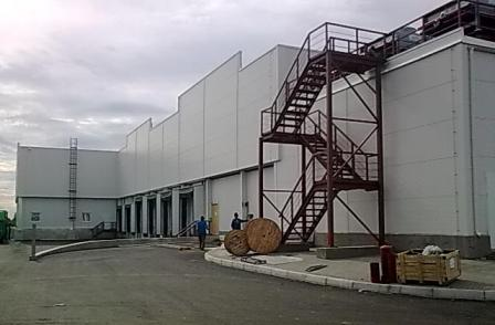 строительство комплекса в янино